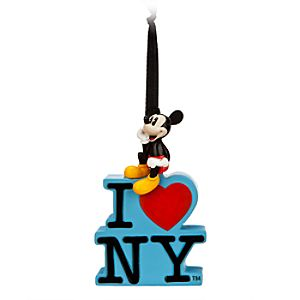 Mickey Mouse Ornament - I ? NY