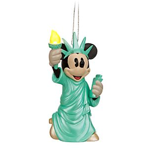 Minnie Mouse Light-Up Ornament - New York