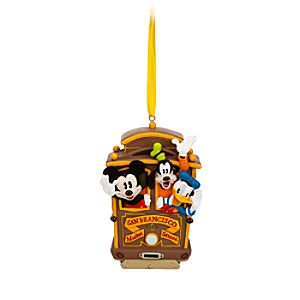 Mickey Mouse and Friends Ornament - San Francisco