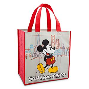 Reusable San Francisco Mickey Mouse Tote