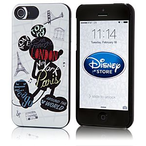 Mickey Mouse Around the World iPhone 5 Case
