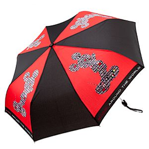 Magic Around the World Mickey Mouse Umbrella