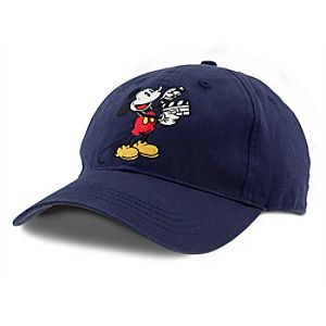 Walt Disney Studios Mickey Mouse Baseball Cap for Adults