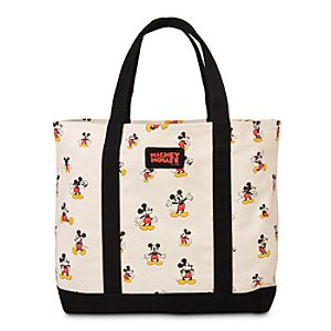 Mickey Mouse Canvas Tote with Pouch