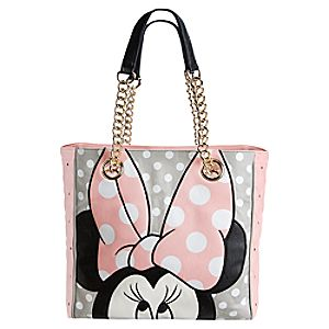Minnie Mouse Tote for Women by Loungefly - Pink