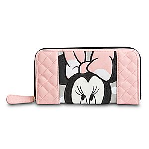 Minnie Mouse Wallet for Women by Loungefly - Pink