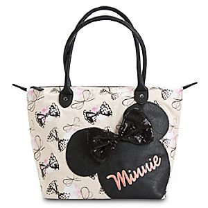 Minnie Mouse Canvas Tote for Women by Loungefly