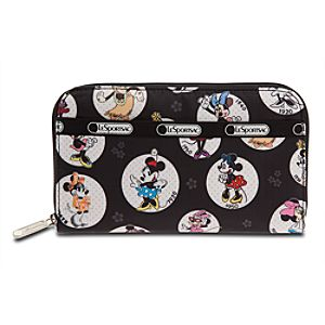 Minnie Mouse Wallet by LeSportsac - ''Celebrate Minnie''