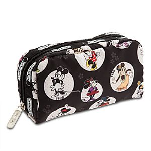 Minnie Mouse Cosmetic Bag by LeSportsac - Celebrate Minnie