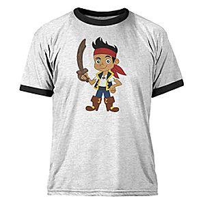 Customize Your Own Jake and the Never Land Pirates Ringer Tee for Kids