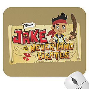 Customize Your Own Jake and the Never Land Pirates Mouse Pad