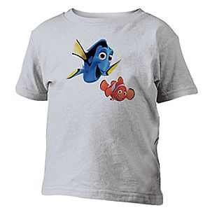 Customize Your Own Finding Nemo Tee for Kids