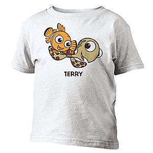 Customize Your Own Finding Nemo Tee for Toddlers