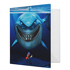 Customize Your Own Finding Nemo Binder