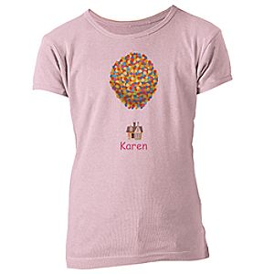 Customize Your Own Up Tee for Girls