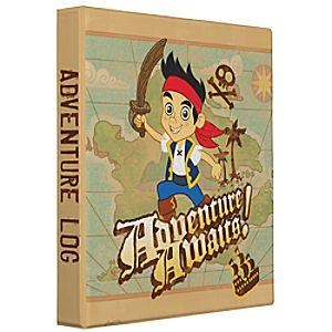 Customize Your Own Jake and the Never Land Pirates Binder