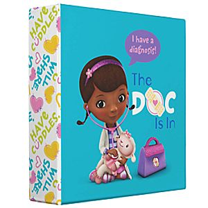 Customize Your Own Doc McStuffins Binder
