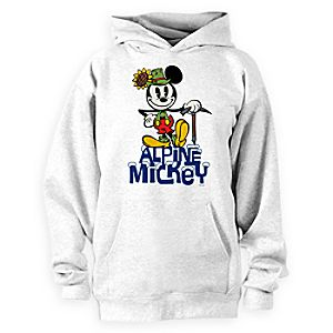 Mickey Mouse Yodelberg Hoodie Pullover for Adults - Customizable