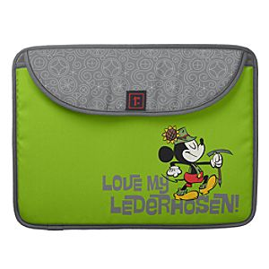 Mickey Mouse Yodelberg Laptop Computer Sleeve - Customizable
