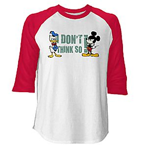 Mickey Mouse No Service Raglan Tee for Men - Customizable