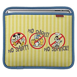 Mickey Mouse No Service iPad 3 Sleeve - Customizable