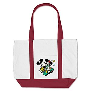 Mickey Mouse Croissant de Triomphe Tote Bag - Customizable