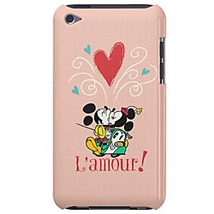 Mickey Mouse Croissant de Triomphe iPod Case - Customizable