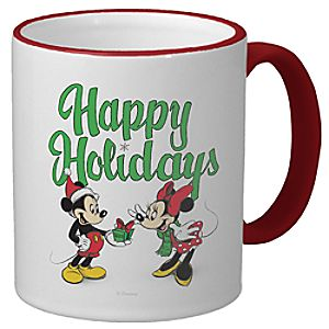 D23 Mickey and Minnie Holiday Mug - Create Your Own
