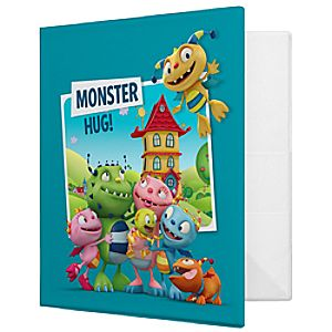 Henry Hugglemonster Binder - Create Your Own