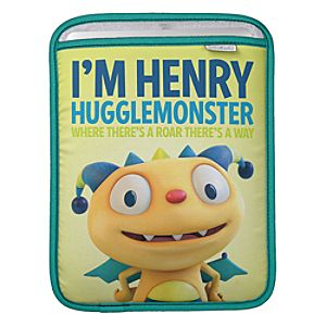 Henry Hugglemonster iPad Sleeve - Create Your Own