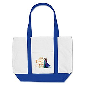 Anna and Elsa Tote - Frozen - Create Your Own
