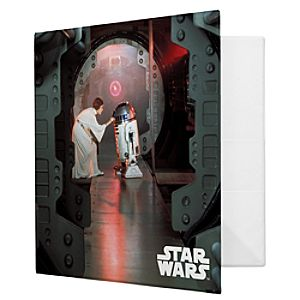 Princess Leia and R2-D2 Binder - Create Your Own