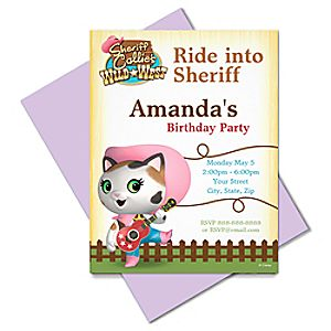 Sheriff Callie Invitation - Create Your Own