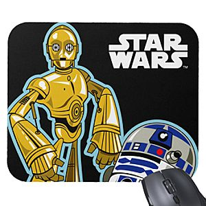 C-3PO and R2-D2 Mouse Pad - Create Your Own