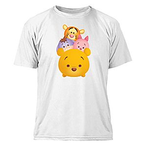 "Tsum Tsum"" Winnie the Pooh and Pals Tee for Kids"