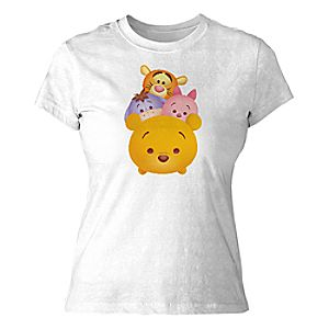 "Tsum Tsum"" Winnie the Pooh and Pals Tee for Women"