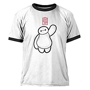 Big Hero 6 Baymax Ringer Tee for Men