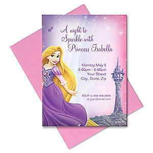 Rapunzel Invitation - Create Your Own