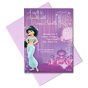 Jasmine Invitation - Create Your Own