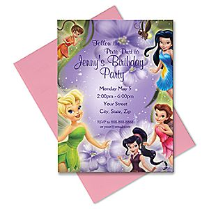 Disney Fairies Invitation - Create Your Own