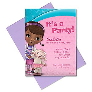 Doc McStuffins Invitation - Create Your Own