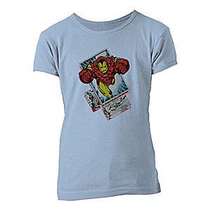 Iron Man Tee for Girls – Customizable