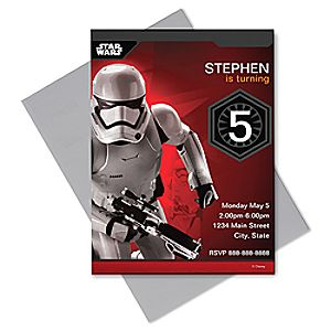Stormtrooper Invitation - Customizable  - Star Wars