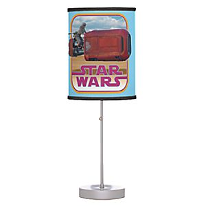 Rey and Speeder Lamp - Star Wars: The Force Awakens - Customizable