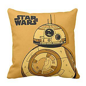 BB-8 Throw Pillow - Star Wars: The Force Awakens - Customizable