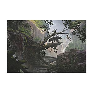 The Jungle Book Mystery of the Jungle Canvas Print - Customizable