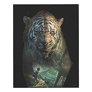 The Jungle Book Wood Wall Panel - Customizable