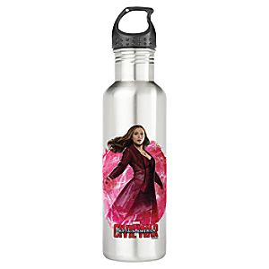 Scarlet Witch Water Bottle - Captain America: Civil War - Customizable
