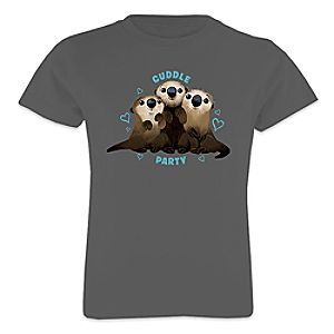 Otters Tee for Girls - Finding Dory - Customizable