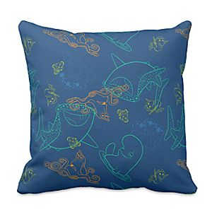 Finding Dory Sketch Pillow - Customizable